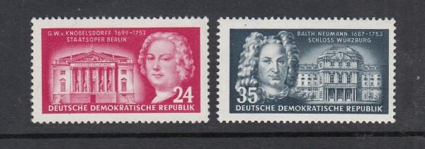 DDR Mi-Nr. 382-383 ** postfrisch
