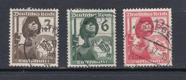 Deutsches Reich Mi-Nr. 643-645 gestempelt