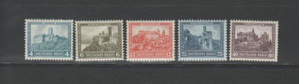 Deutsches Reich Mi-Nr. 474-478 ** postfrisch