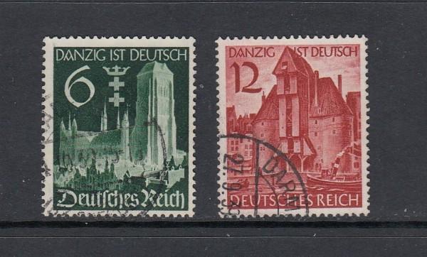 Deutsches Reich Mi-Nr. 714-715 gestempelt