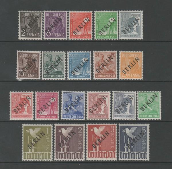 Berlin Mi-Nr. 1-20 ** postfrisch