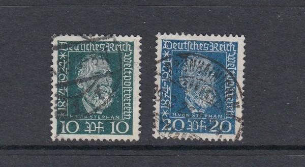 Deutsches Reich Mi-Nr. 368-369 gestempelt
