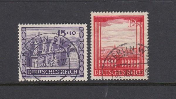Deutsches Reich Mi-Nr. 804-805 gestempelt