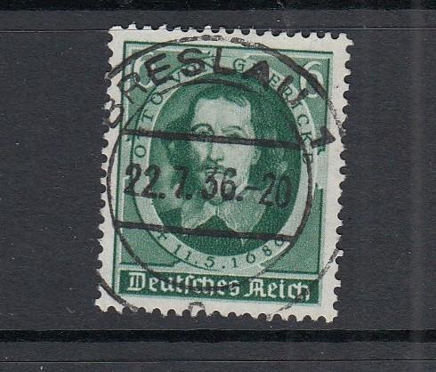 Deutsches Reich Mi-Nr. 608 zentrisch gestempelt Breslau
