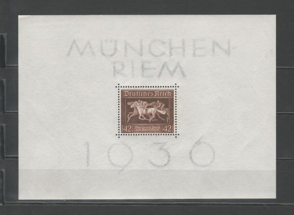 Deutsches Reich Mi-Nr. Block 4 ** postfrisch