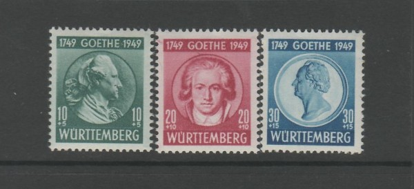Französische Zone Württemberg Mi-Nr. 44-46 ** postfrisch