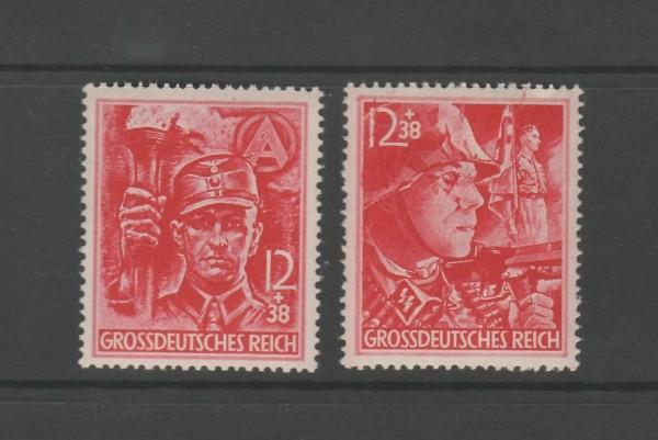 Deutsches Reich Mi-Nr. 909-910 ** postfrisch