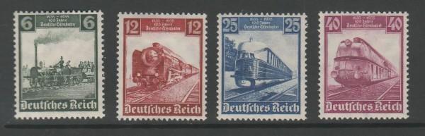 Deutsches Reich Mi-Nr. 580-583 ** postfrisch