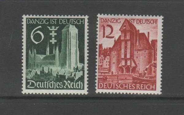 Deutsches Reich Mi-Nr. 714-715 ** postfrisch