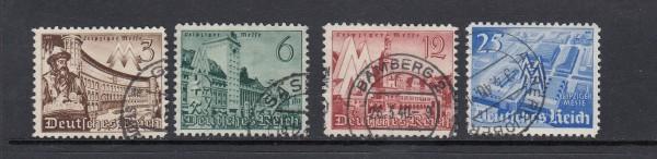 Deutsches Reich Mi-Nr. 739-742 gestempelt