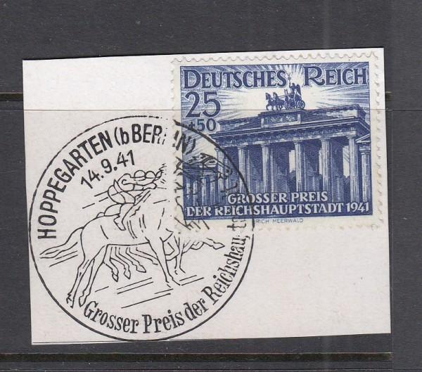 Deutsches Reich Mi-Nr. 803 gestempelt mit Sonderstempel auf Briefstück