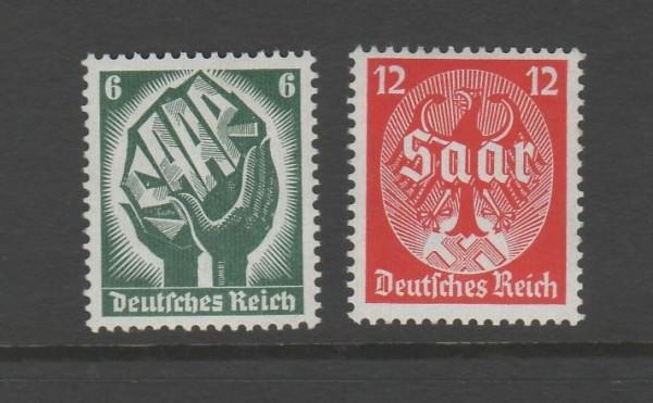 Deutsches Reich Mi-Nr. 544-545 ** postfrisch