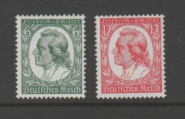 Deutsches Reich Mi-Nr. 554-555 ** postfrisch