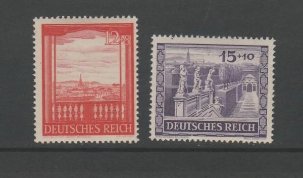 Deutsches Reich Mi-Nr. 804-805 ** postfrisch