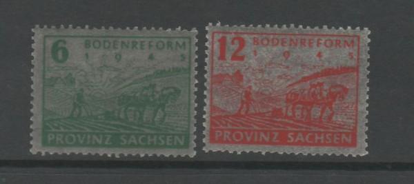 SBZ Provinz Sachsen Mi-Nr. 90-91 ** postfrisch