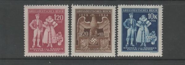 Böhmen und Mähren Mi-Nr. 133-135 ** postfrisch