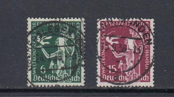 Deutsches Reich Mi-Nr. 622-623 zentrisch gestempelt