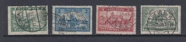 Deutsches Reich Mi-Nr. 364-367 gestempelt