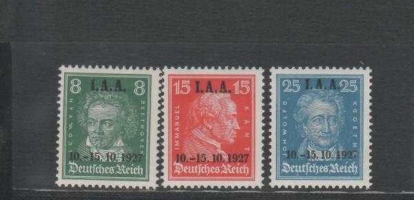 Deutsches Reich Mi-Nr. 407-409 ** postfrisch