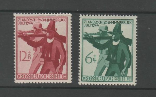 Deutsches Reich Mi-Nr. 897-898 ** postfrisch