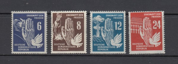 DDR Mi-Nr. 276-279 ** postfrisch