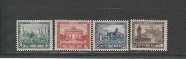 Deutsches Reich Mi-Nr. 450-453 ** postfrisch