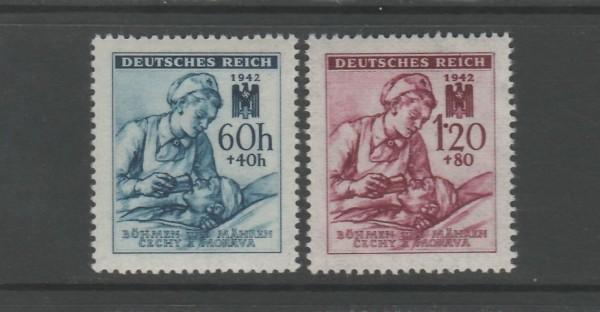 Böhmen und Mähren Mi-Nr. 111-112 ** postfrisch