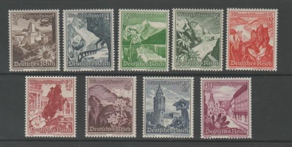 Deutsches Reich Mi-Nr. 675-683 ** postfrisch