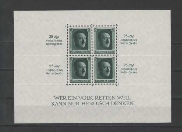 Deutsches Reich Mi-Nr. Block 9 ** postfrisch
