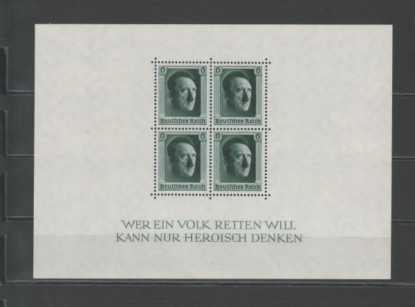 Deutsches Reich Mi-Nr. Block 7 ** postfrisch