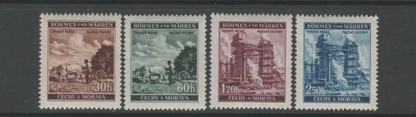 Böhmen und Mähren Mi-Nr. 75-78 ** postfrisch