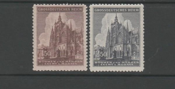 Böhmen und Mähren Mi-Nr. 140-141 ** postfrisch