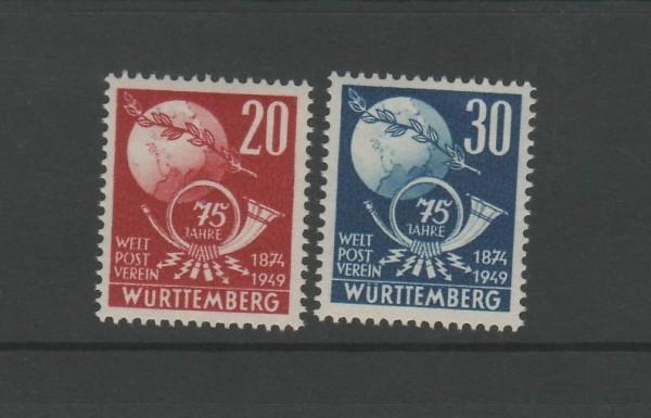 Französische Zone Württemberg Mi-Nr. 51-52 ** postfrisch