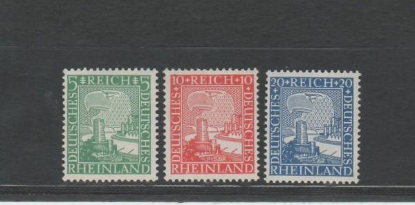 Deutsches Reich Mi-Nr. 372-374 ** postfrisch