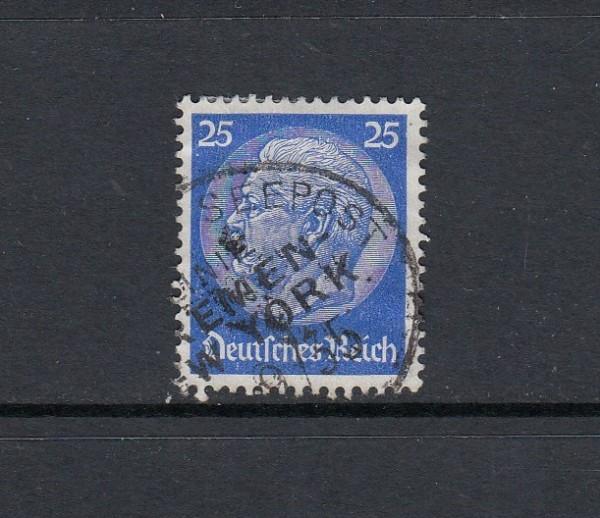 Deutsches Reich Mi-Nr. 522 gestempelt Seepost Bremen-New York