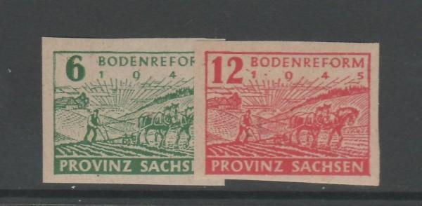 SBZ Provinz Sachsen Mi-Nr. 85-86 ** postfrisch