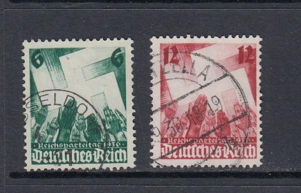 Deutsches Reich Mi-Nr. 632-633 gestempelt