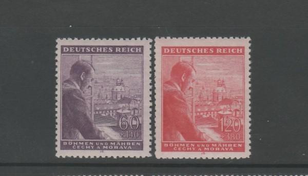 Böhmen und Mähren Mi-Nr. 126-127 ** postfrisch