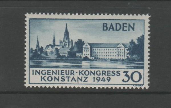 Französische Zone Baden Mi-Nr. 46 I ** postfrisch