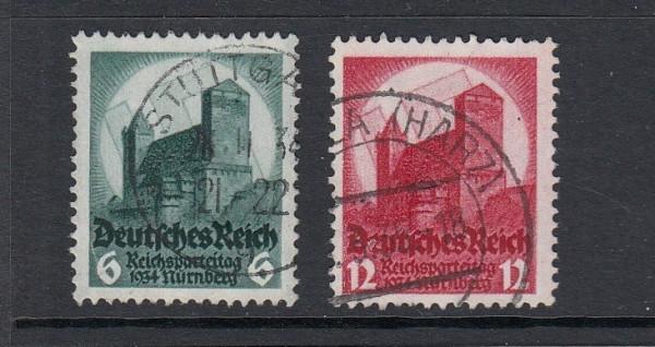 Deutsches Reich Mi-Nr. 546-547 gestempelt