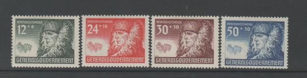 Generalgouvernement Mi-Nr. 59-62 ** postfrisch