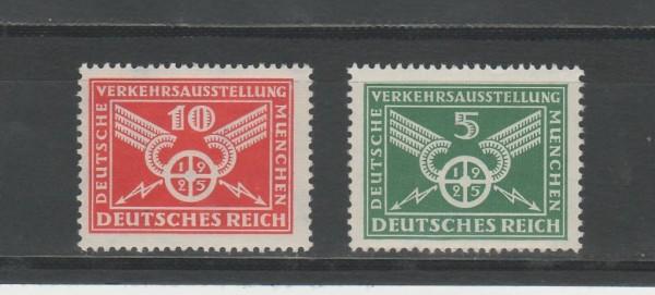 Deutsches Reich Mi-Nr. 370-371 ** postfrisch