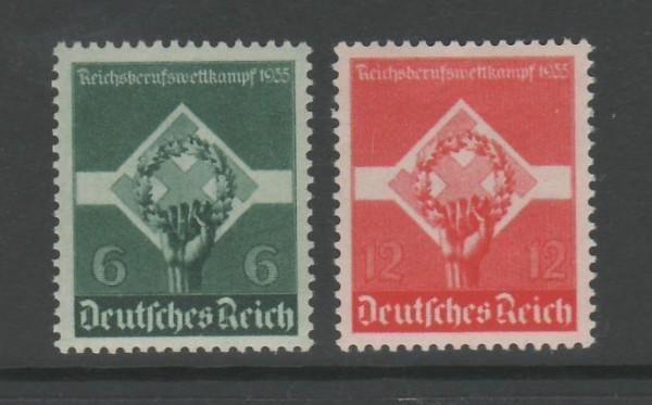 Deutsches Reich Mi-Nr. 571-572x ** postfrisch