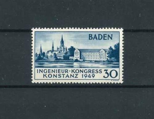 Französische Zone Baden Mi-Nr. 46 II ** postfrisch - Konstanz