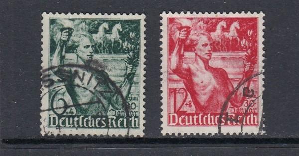 Deutsches Reich Mi-Nr. 660-661 gestempelt