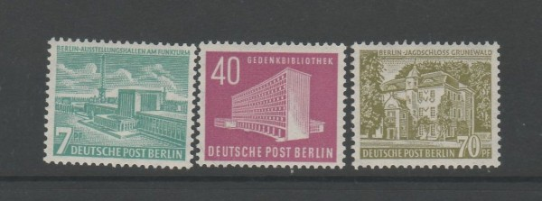 Berlin Mi-Nr. 121-123 ** postfrisch