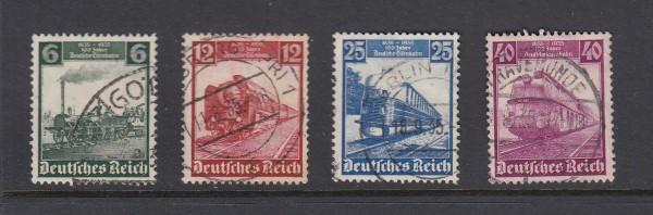 Deutsches Reich Mi-Nr. 580-583 gestempelt