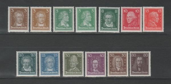 Deutsches Reich Mi-Nr. 385-397 ** postfrisch