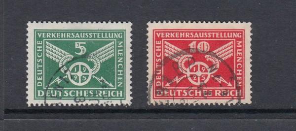 Deutsches Reich Mi-Nr. 370-371X gestempelt