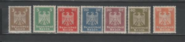 Deutsches Reich Mi-Nr. 355-361 ** postfrisch